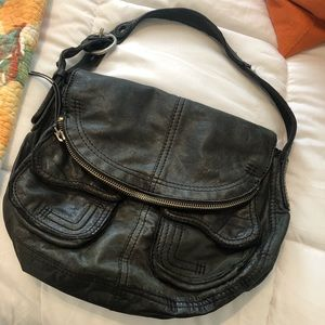 Black Soft Leather Lucky Brand Purse
